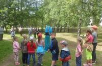 Игровая программа «День Нептуна» в деревне Свингино
